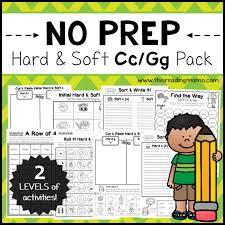 We have crafted many worksheets covering various aspects of this topic, and many more. No Prep Hard And Soft C And G Pages This Reading Mama