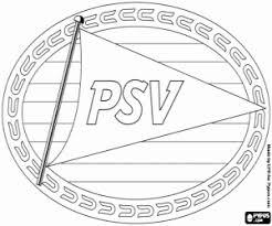 Kleurplaat Psv Eindhoven Logo Kleurplaten
