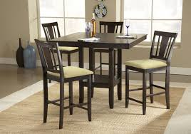 53 bar height dining table set alyssa 48 round counter height
