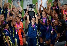 تتويج ليون ببطولة دوري أبطال أوروبا للسيدات - التيار الاخضر