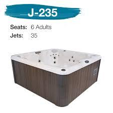 Jacuzzi J235 6 Adults 35 Jets
