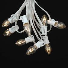 C7 Light String White Wire