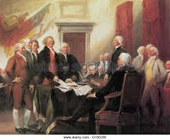 roger sherman and robert livingston along with adams jefferson and franklin present the declaration