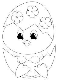 Small Picture Easter Chick Coloring Pages Images Archives gobel coloring page