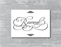 reserved sign templates 30 images of printable reserved template dotcomstand com