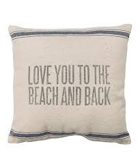 beach house decor coastal. primitives by kathy u0027love you to the beach u0026 backu0027 pillow house decorbeach decor coastal