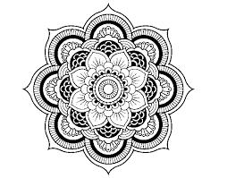 Disegno Di Mandala Fiore Orientale Da Colorare Acolorecom