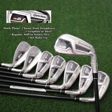 Taylormade Custom Shaft Chart Details About Taylormade Golf M6 Iron Sets Choose Shaft Steel Graphite Flex Set Make Up New