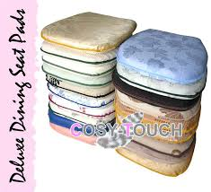 chair cushions with ties incredible chair seats pads with additional interior designing home ideas with additional