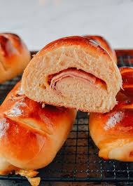 Ham And Cheese Buns A Chinese Bakery Treat Recipe Asian Foods