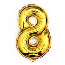40 giant 8 eight gold mylar number letter balloons birthday big balloon party wedding centerpieces table decoration events 0 0 width=720&height=960