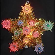 Amazoncom Lighted Capiz Shell Star Of Bethlehem Christmas Tree Christmas Tree Lighted Star