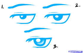 how to draw male anime eyes. Unique Eyes Anime Boy Eyes Drawing How To Draw Male Eyes Stepstep And A