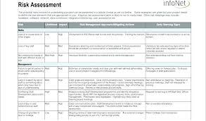 Risk Profile Template Excel