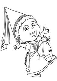 Small Picture Despicable Me Coloring Pages Agnes Coloring Pages Images
