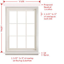 Measurement Window How To Measure Natural Woven Wood Shades Levolor Jcpenney Com