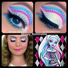 3 this makeup look is inspired by abbey from monster high