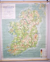 series maps philips comparative series of smaller school maps ireland physical