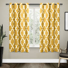 exclusive home ironwork blackout thermal grommet top window curtain panels 52 x 84 black pearl set of 2 com