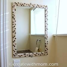 diy bathroom mirror bathroom mirror decoration 9 cool and simple bathroom intended for amazing decorative bathroom diy bathroom mirror