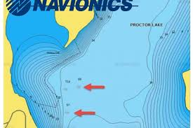 Lake Conroe Nautical Chart Navionics Adds New Maps Lakes In Recent Update Anglers