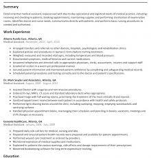 Detailed Resume Sample