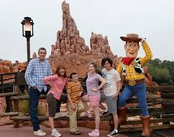 in the middle of the heck family vacation at walt disney world resort
