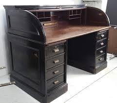 office metal desk. Antique Industrial Steel Roll Top Desk, Quarter Sawn Oak Interior Art Metal At 1stdibs - Office Desk T