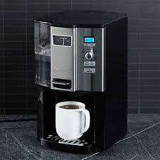 Brews up to 12 cups at a time. Cuisinart Coffee On Demand 12 Cup Programmable Coffeemaker Reviews Crate And Barrel