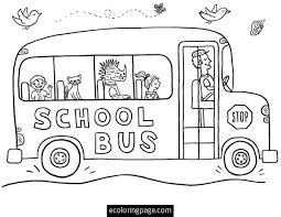 Small Picture School Bus Driver Coloring Page Download Kids School Bus Coloring