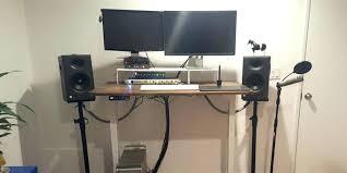 home office cable management. Desks: Cable Management Desk With Cozy Home Office Standing Tutorial C: