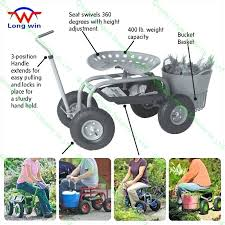 garden scooter seat. Scoot N Do Garden Seat Rolling Work Tractor Cart Scooter .
