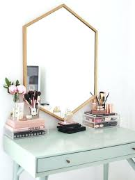 makeup vanity accessories accessorize your accessories with this to for beauty vanity setup coffee table