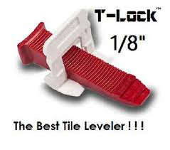 1 8 t lock tile leveling system complete kit wall floor spacers