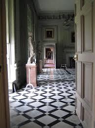 black and white diamond tile floor. The Diamond Pattern In A Black And White Marble Floor - I Would Do This All (no Black) Tile