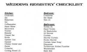 wedding registry list. Wedding Registry Checklist Wedding Registry Checklist Printable