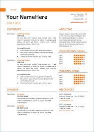 Free Resume Generator Resume Layout Com