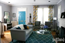 Teal Blue Living Room Gray Teal Gold Living Room With Teal Trellis Rug Gray