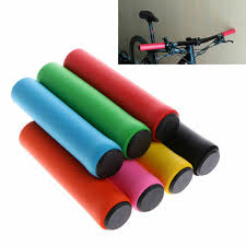 <b>1Pair</b> MTB <b>Soft Foam Silicone Sponge</b> Handle Bar Grips Handlebar ...