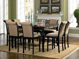 coaster cabrillo counter height dining set black amaretto 101828 throughout wonderful counter height dining room sets