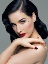 dita von teese color tip Поиск в google creative makeup rock makeup colorakeup ideas