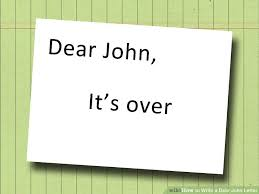 How To Write A Dear John Letter 13 Steps With Pictures