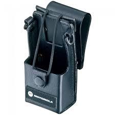 motorola pr400. motorola [rln5383a] hard leather case with belt loop and d-shaped rings pr400