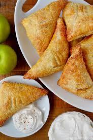 easy apple turnovers just a taste