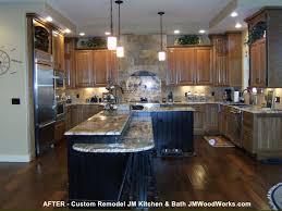 wood finishing kitchen cabinet refinishing denver
