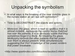one flew over the cuckoos nest ppt 30 unpacking the symbolism