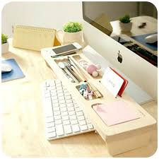 wooden desk accessories fashion wooden desk organizer office with regard to popular household personalized desk