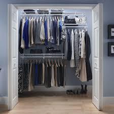 closetmaid shelftrack 4 6 ft closet organizer kit hayneedle in wire shelf closet organizer how to install wire shelf closet organizer