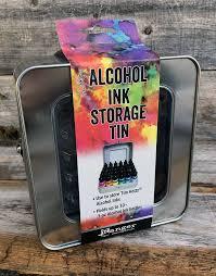 tim holtz alcohol ink ho58618 alcohol ink storage tin