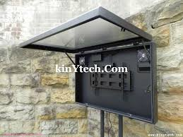 outdoor lcd display enclosure outdoor tv enclosure